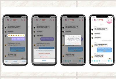 You now have ten minutes to take back embarrassing texts you send on Facebook Messenger