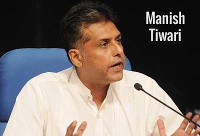 Biography of Manish Tewari Politician with Family Background and Personal Details