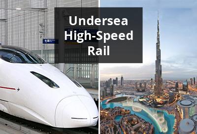 Unique project to run underwater bullet train amid Dubai and Mumbai